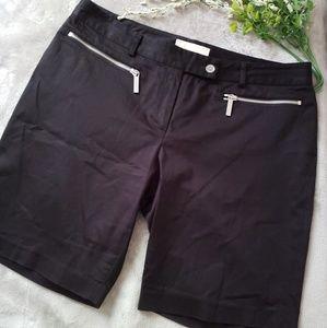 Michael Kors black Bermuda shorts. Size 8